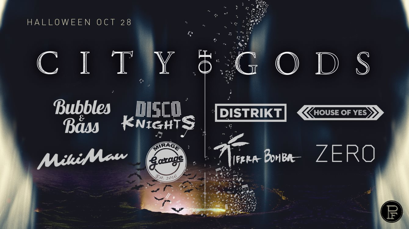 City Of Gods Halloween Nyc 2020 RA: City of Gods at TBA   New York, New York (2017)