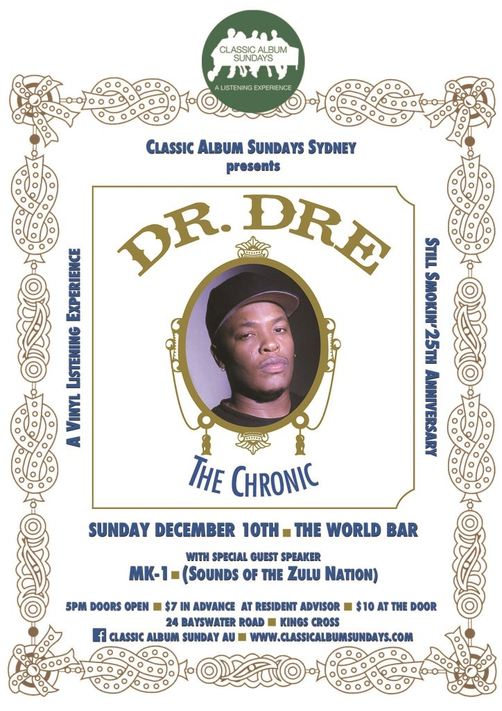 Dr dre date of birth in Sydney