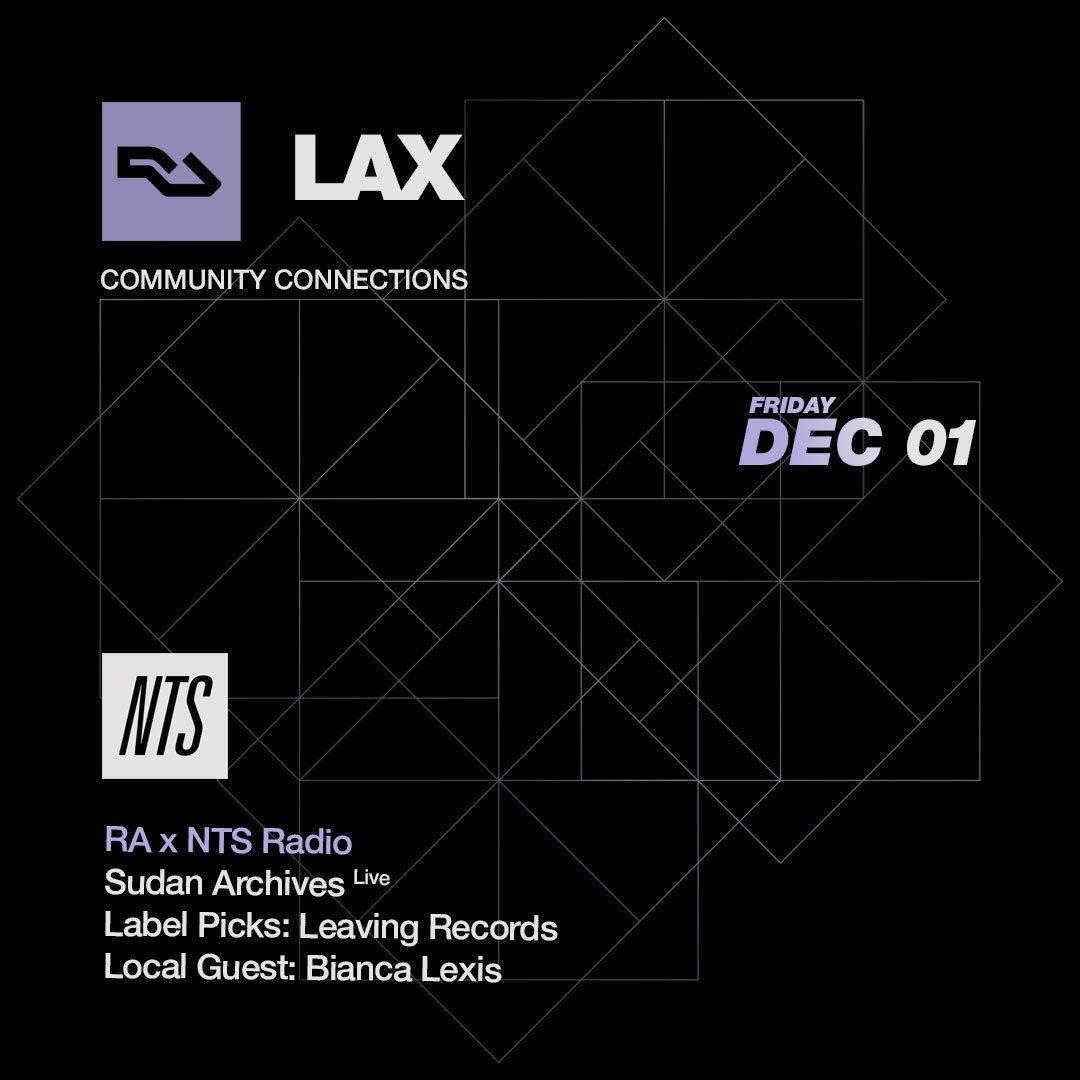 RA LAX: NTS Radio at Mount Analog, Los Angeles (2017)