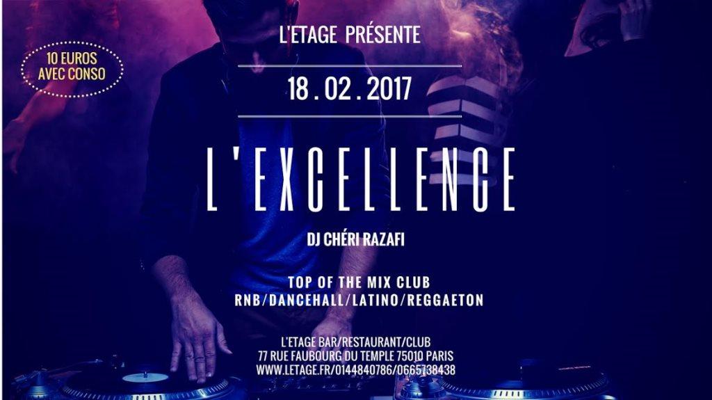 Ra L Excellence At L Etage Paris 2017