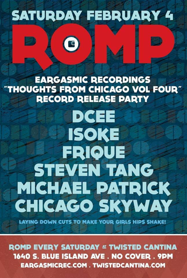 RA: Romp - Eargasmic Recordings Record Release with Steven