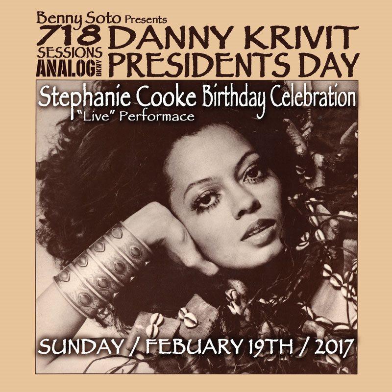 718 Sessions Presidents Day Weekend 2017 W Danny Krivit
