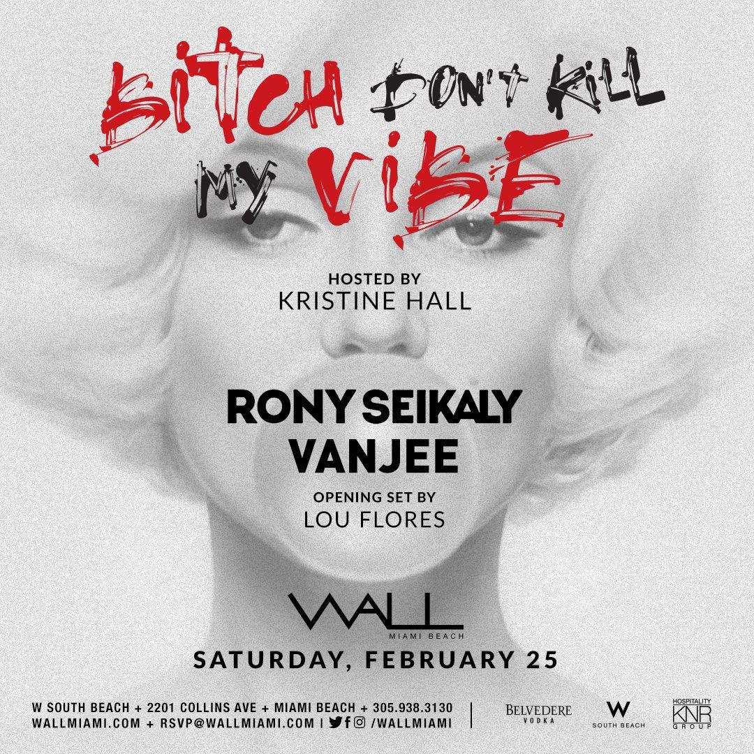 RA House Saturday with Rony Seikaly & Vanjee at Wall Lounge Miami
