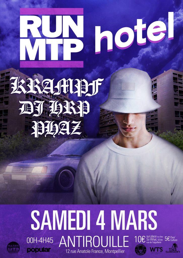 Ra Run Mtp X Hotel Radio Paris At Antirouille Montpellier