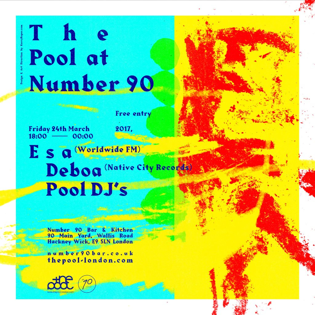 RA: The Pool with Esa at Number 90, London (2017)
