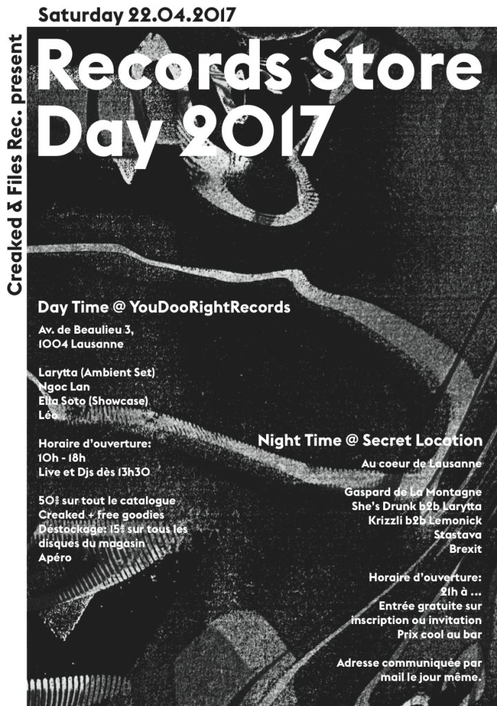 Ra Creaked At Youdoorightrecords Lausanne 2017