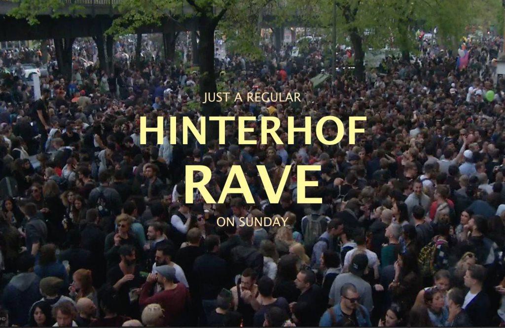 Ra Hinterhof Rave At Hinterhof Berlin 2017