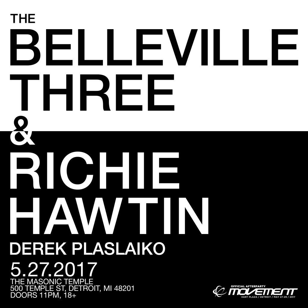 RA: The Belleville Three & Richie Hawtin - Official Movement