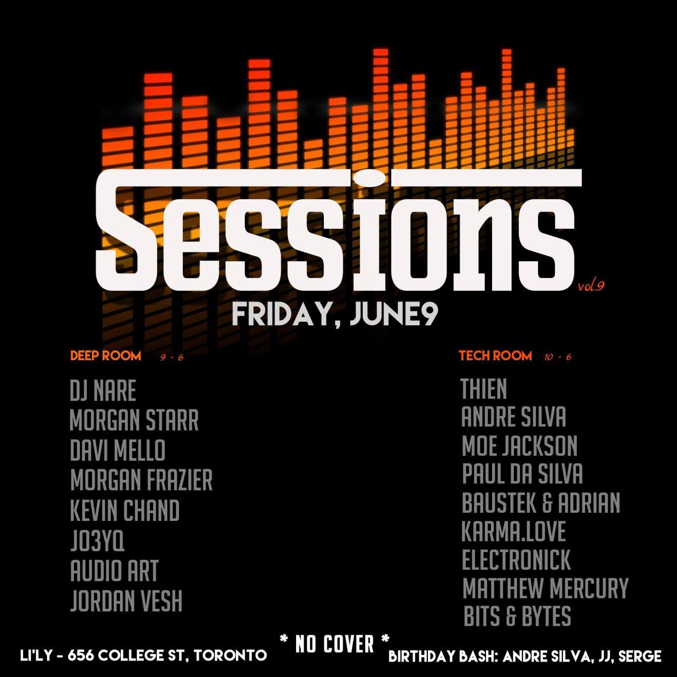 Headless Royalty Free Stock Music Pt2 >> Ra Sessions Vol 9 At Li Ly Resto Lounge Toronto 2017