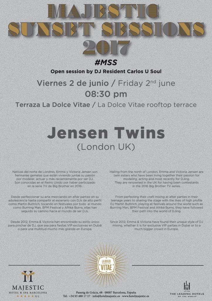 Ra Djs Jensen Twins Majestic Sunset Sessions 2017 Rooftop