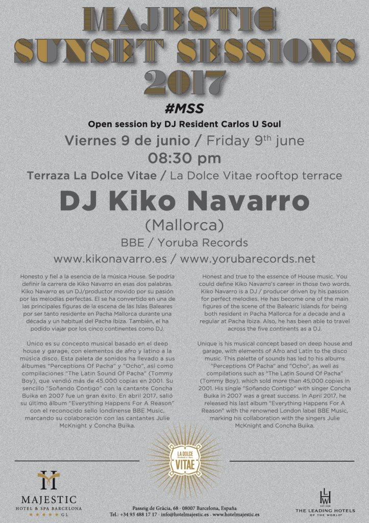Ra Kiko Navarro Majestic Sunset Sessions 2017 At La Dolce