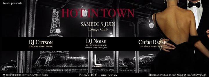 Ra Hot In Town At L Etage Paris