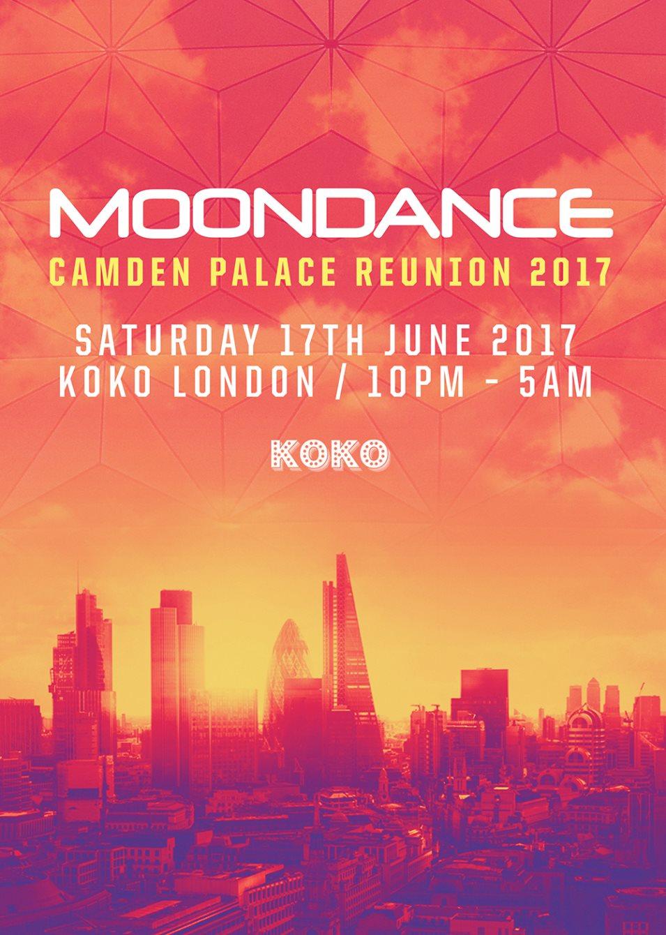 RA: Moondance Camden Palace Reunion 2017 at KOKO, London (2017)