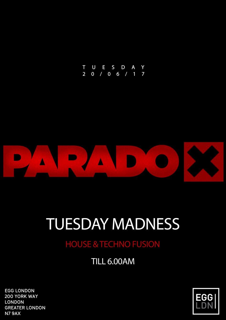 e3be406914 RA: Paradox - Tuesday Madness with Davide Del Vecchio, Emma Knight ...