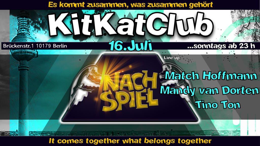 Ra Nachspiel Sonntags Nacht Club At Kitkatclub Berlin 2017
