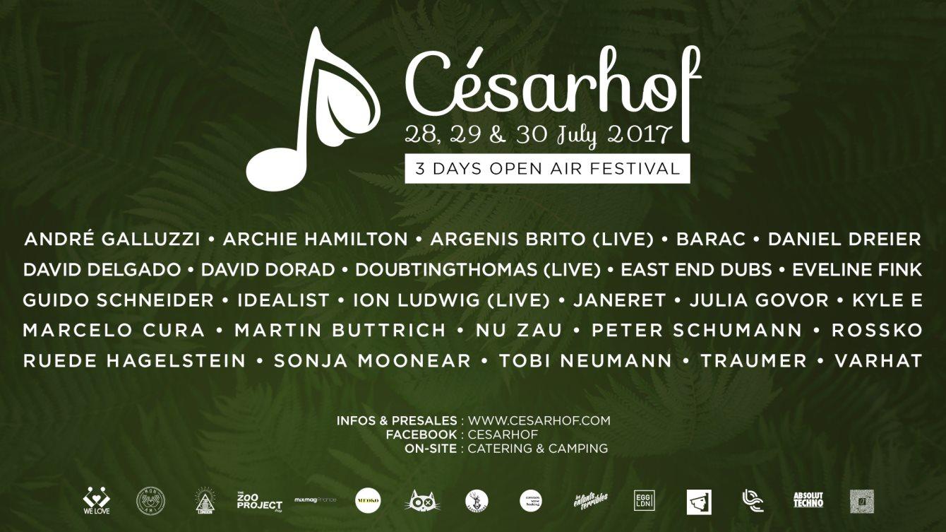 Ra cesarhof open air festival 2017 at cesarhof east 2017 line up solutioingenieria Gallery