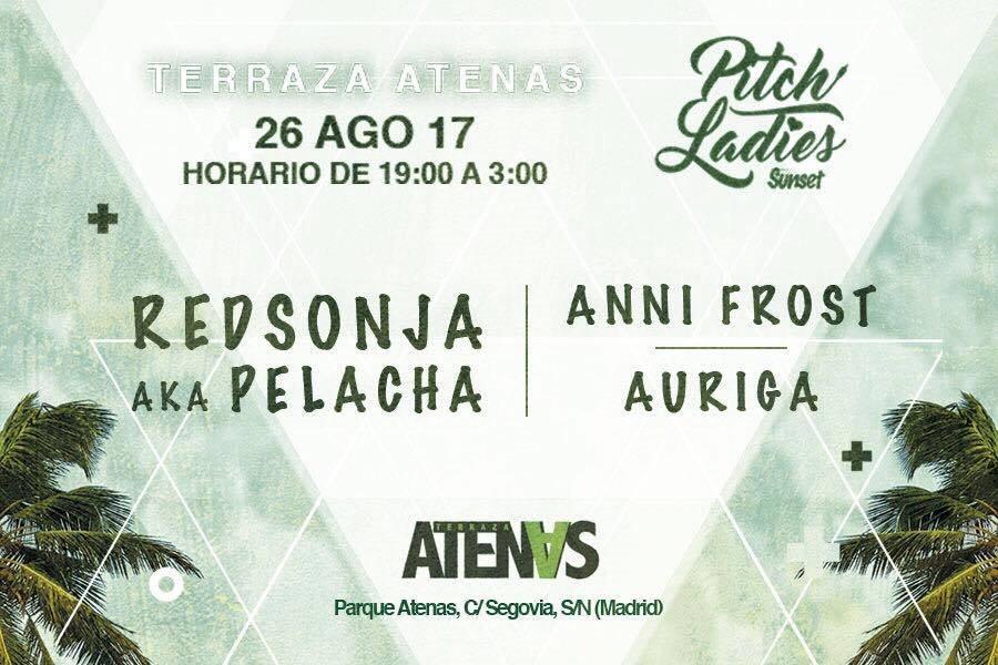 Ra Pitch Ladies At Terraza Atenas Madrid 2017
