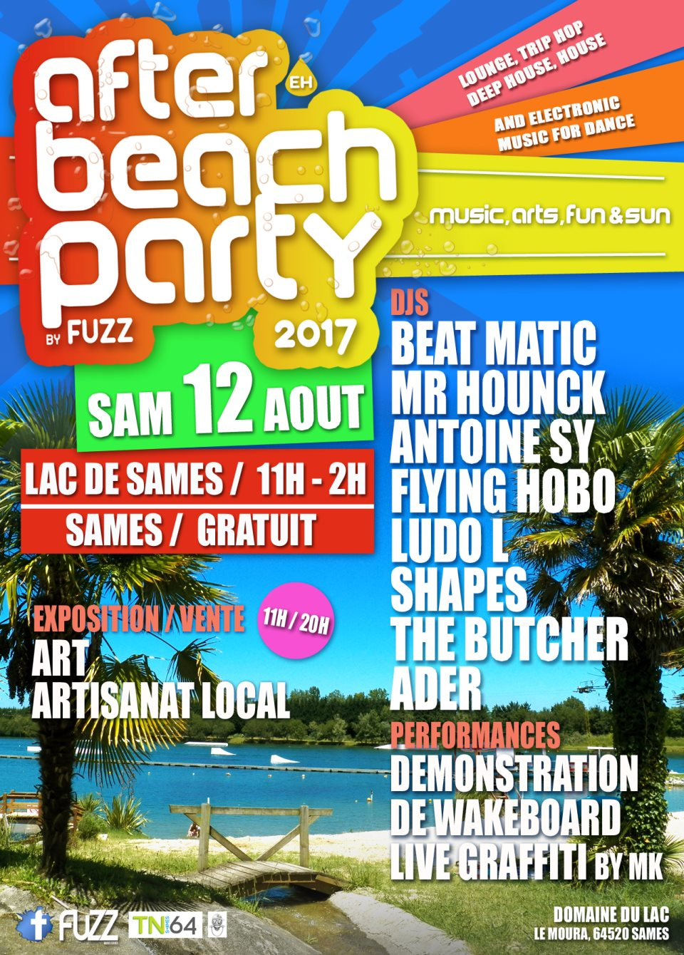 RA After Beach Party 2017 At Lac De Sames South West