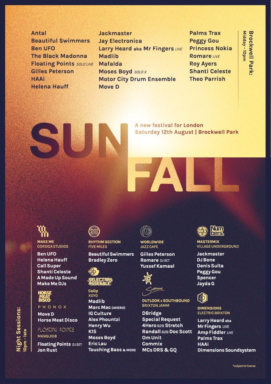 RA: Sunfall: Numbers & Mastermix at Village Underground