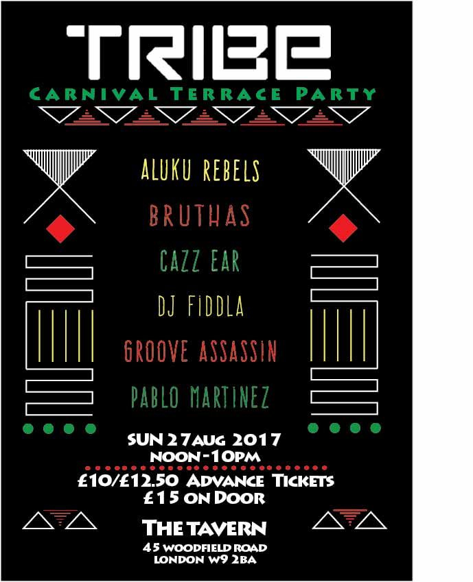RA: Tribe Carnival Terrace Party at Union Tavern, London (2017)