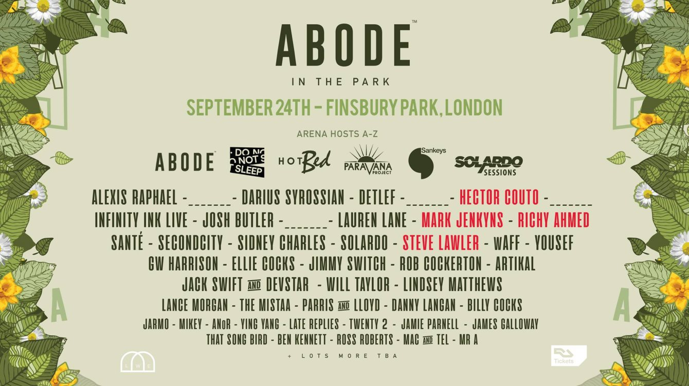 ra abode in the park at finsbury park london 2017