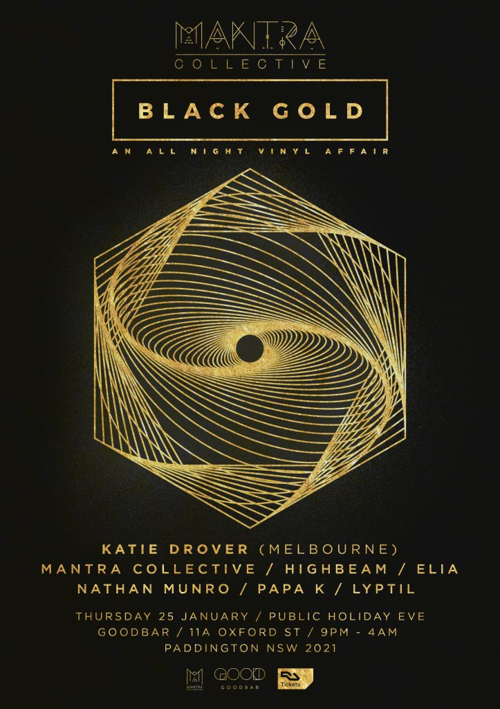 RA: Mantra Collective presents Black Gold - An All Night