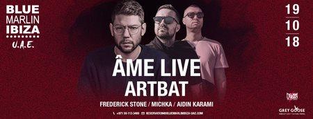 �me Live & Artbat  at Blue Marlin in Dubai 19 Oct 2018