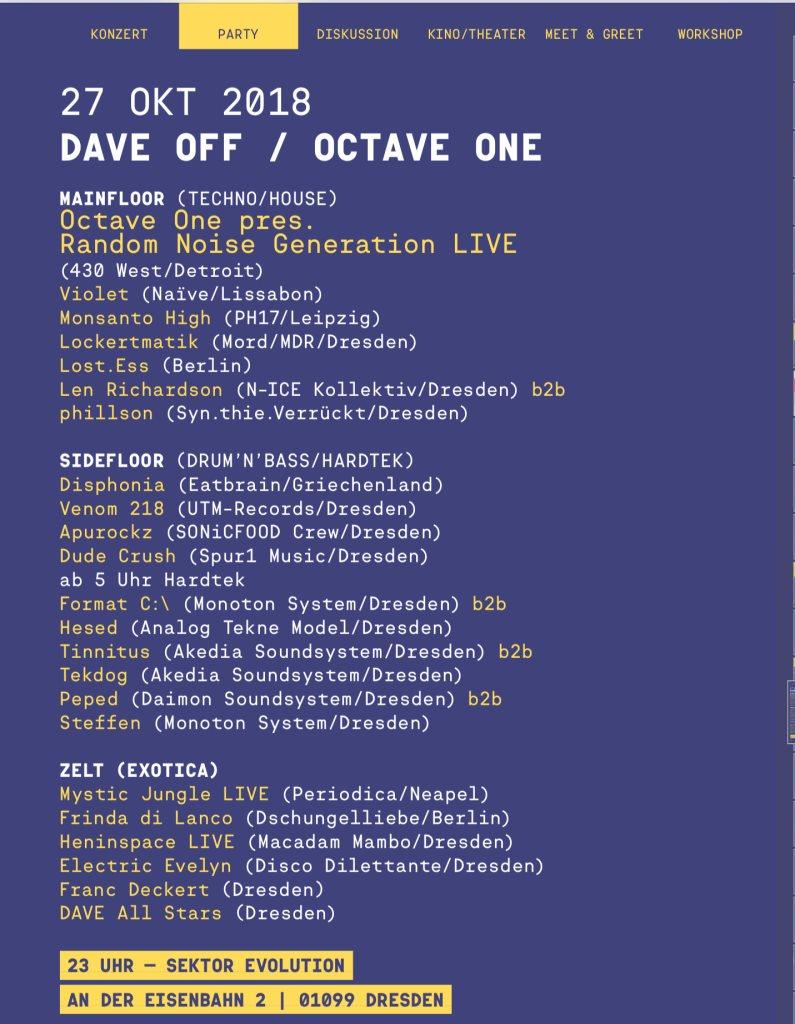 RA: Dave Festival 2018 - Dave Off at Sektor Evolution