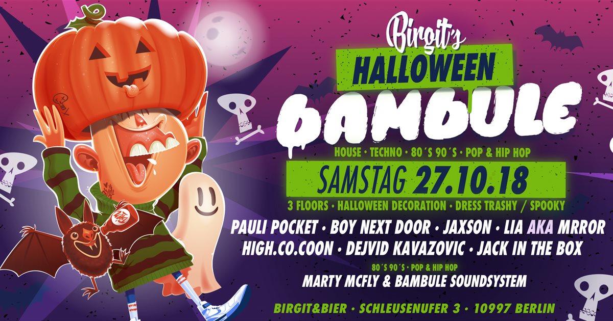 Halloween Bier.Ra Birgit S Halloween Bambule House Techno 80s 90s Pop