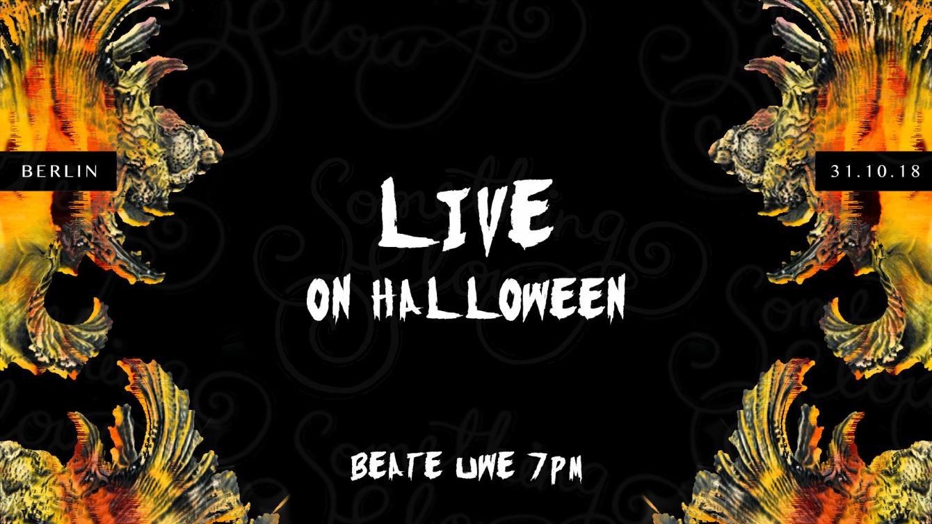 ra: something slow live on halloween at beate uwe, berlin