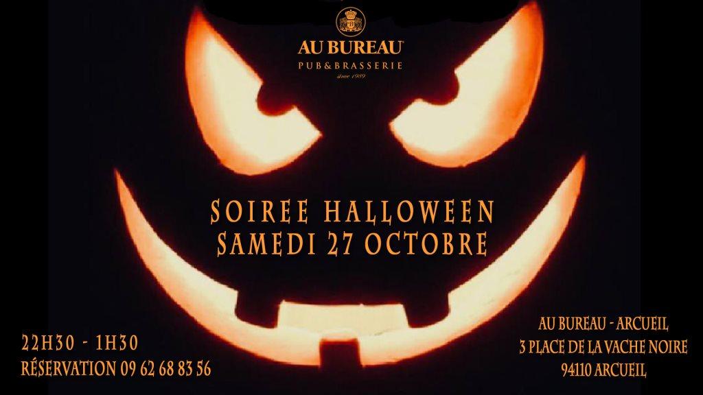 Ra soirée halloween at au bureau arcueil paris
