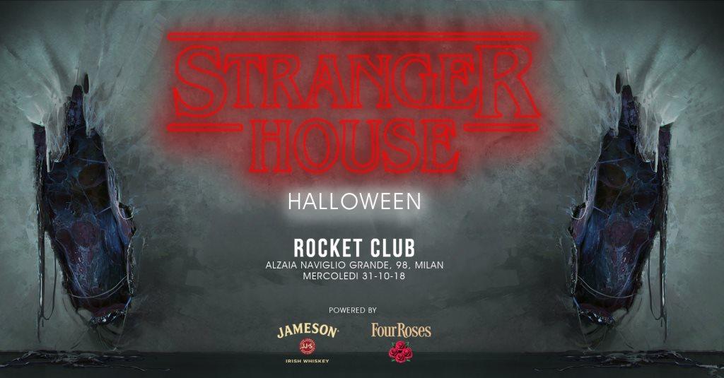 Ra Stranger House Halloween At Rocket Milan 2018