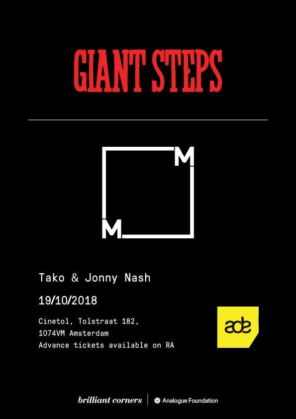 RA: GIANT STEPS x Music From Memory with Tako & Jonny Nash at