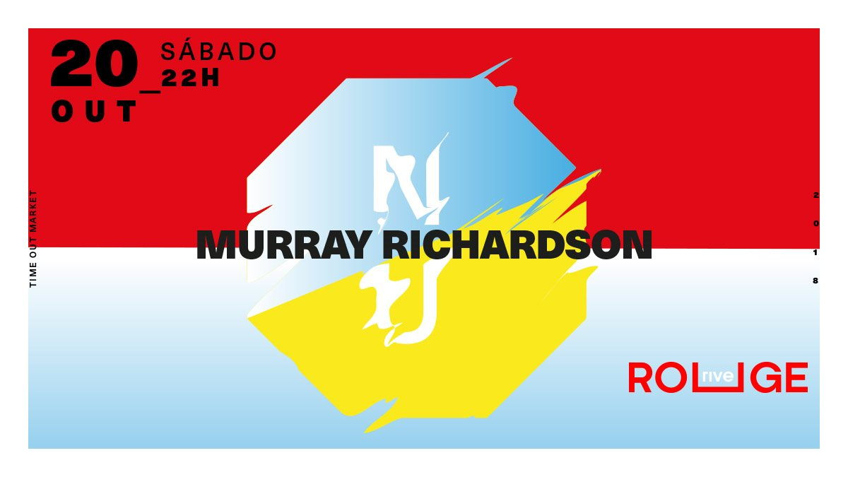 NU: Murray Richardson  at Rive Rouge in Lisbon 20 Oct 2018