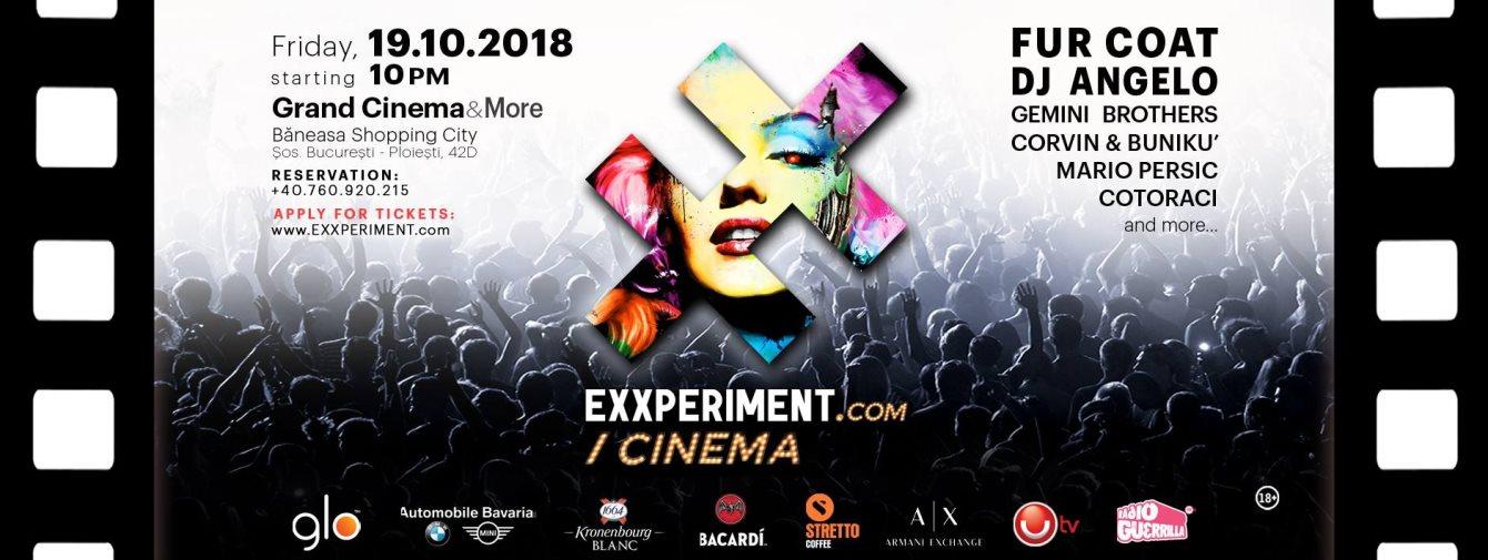 ra exxperiment cinema at grand cinema bucharest