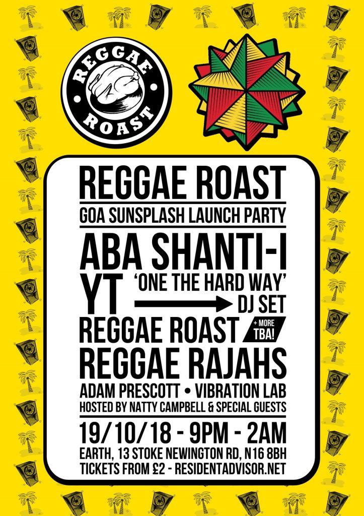 Reggae Roast - Aba Shanti-I, YT, Reggae Rajahs