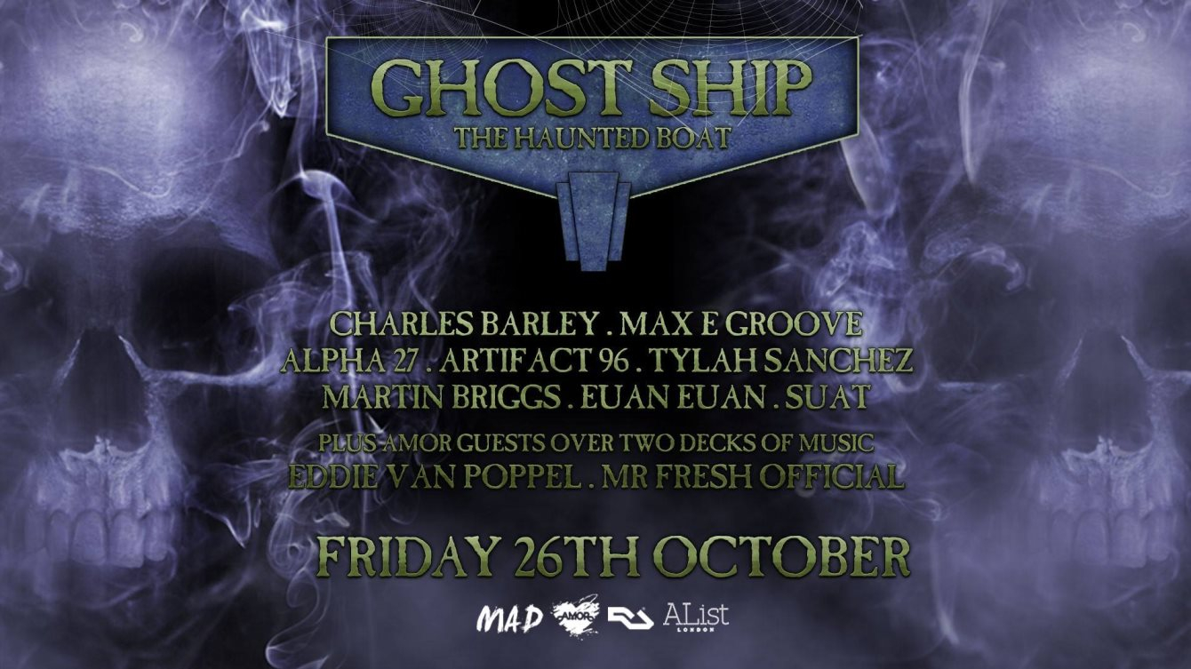 ra tickets: ghost ship ft. mad the biggest halloween boat party at