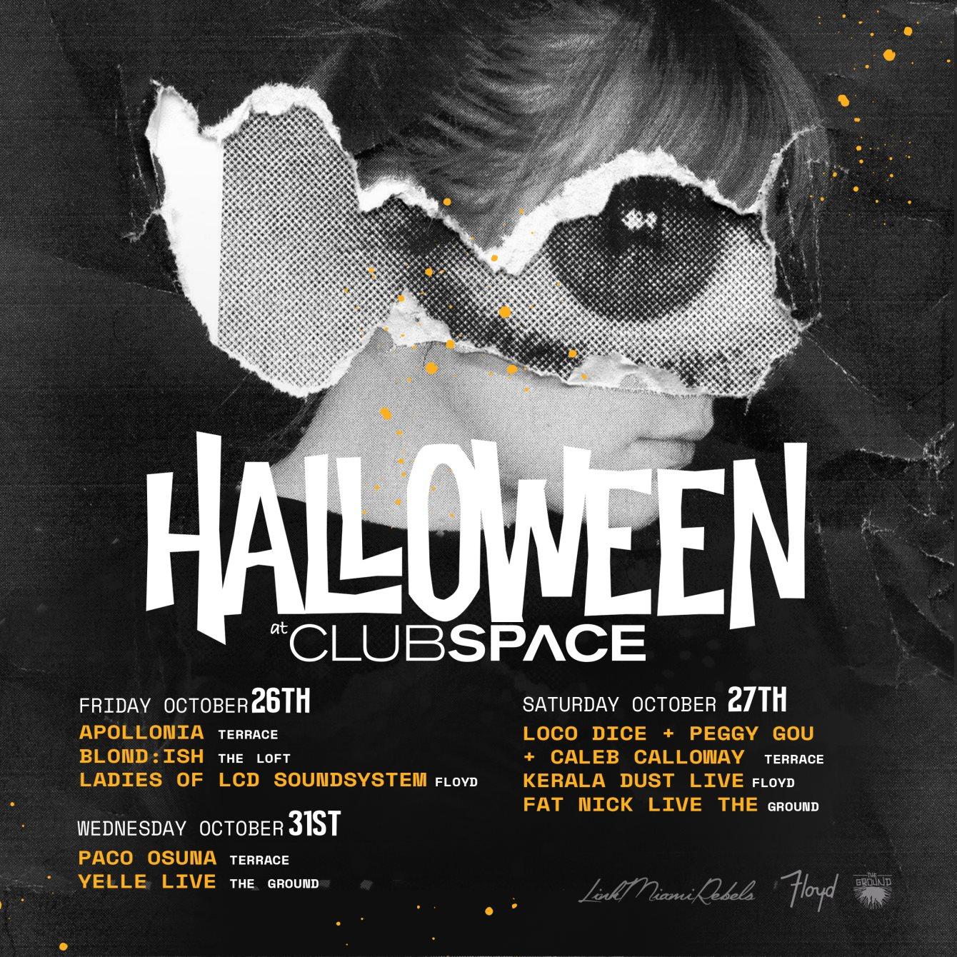 RA: Halloween Week Pass at Space, Miami (2018)