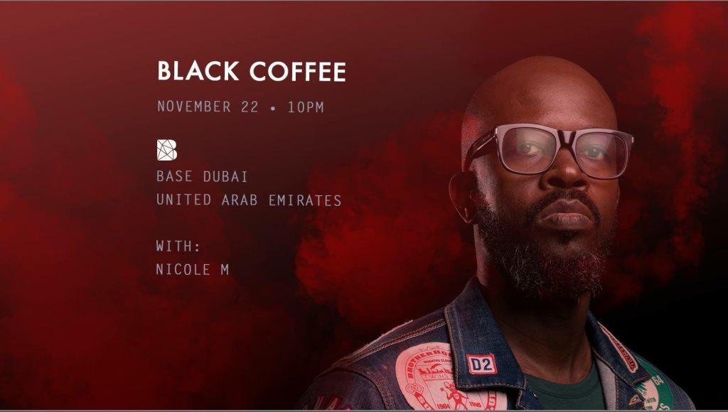 Black Coffee   at Base Club in Dubai 22 Nov 2018
