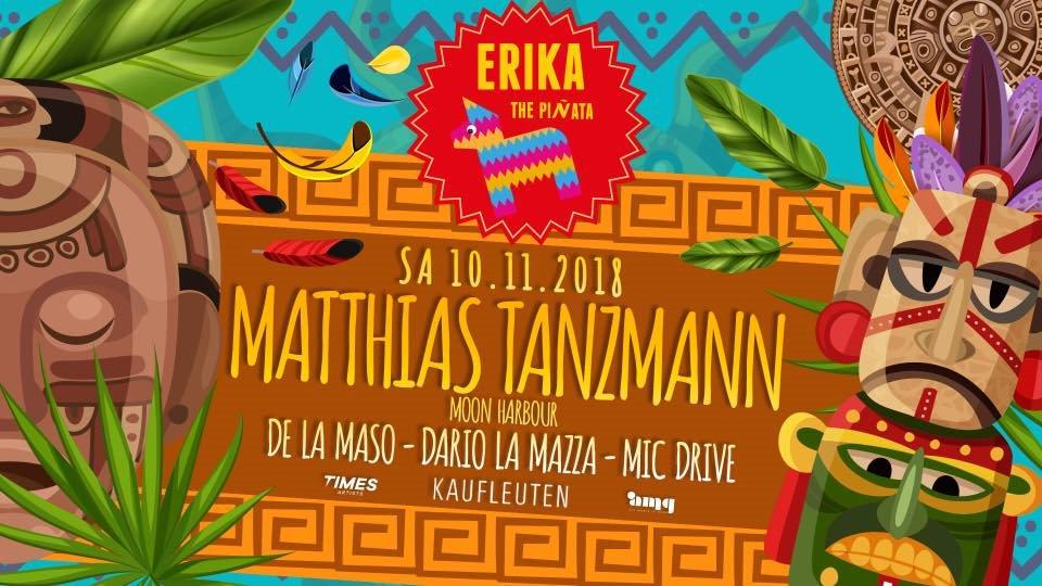 Ra Erika The Piñata With Matthias Tanzmann At Kaufleuten