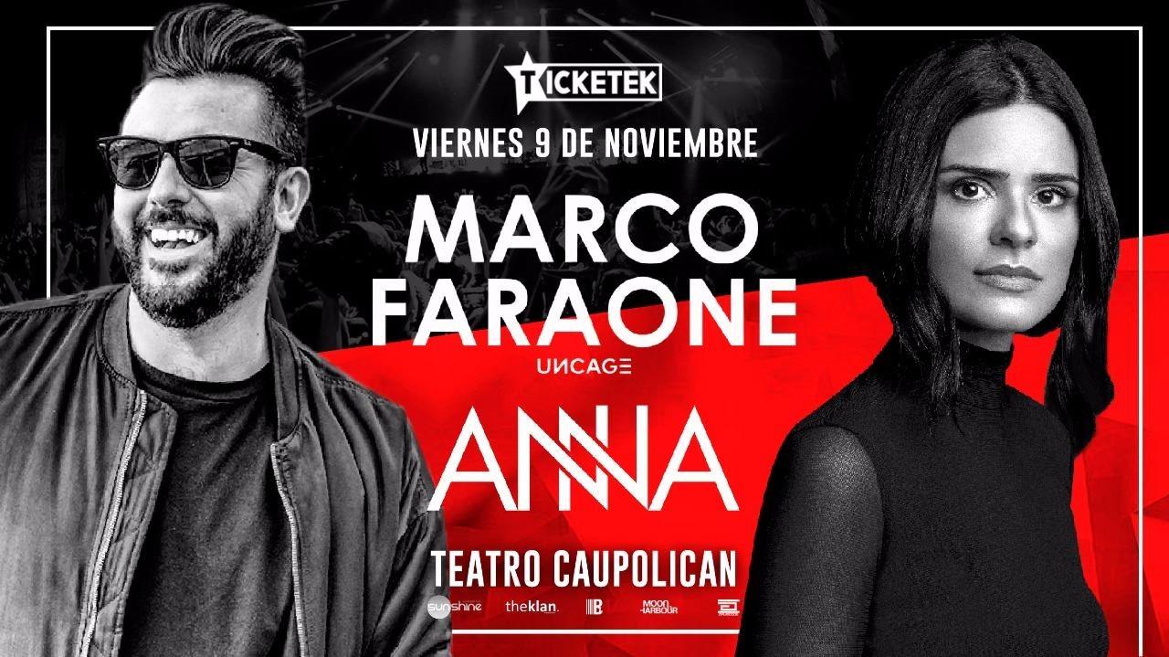 Ana Marco ra: marco faraone - anna at teatro caupolican, santiago (2018)