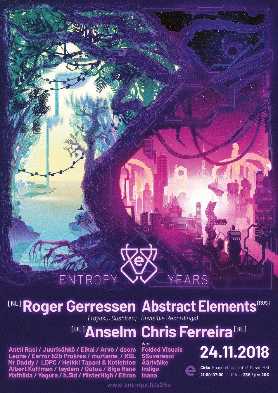 Entropy 25 Years