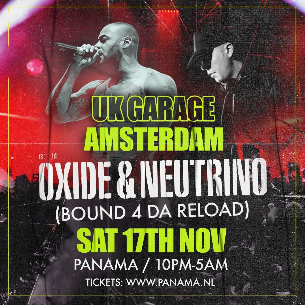 UK Garage Amsterdam  at Panama Club in Amsterdam 17 Nov 2018
