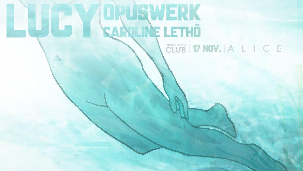 A L I C E 2.1 Lucy � Opuswerk � Caroline Leth�  at Ministerium in Lisbon 17 Nov 2018