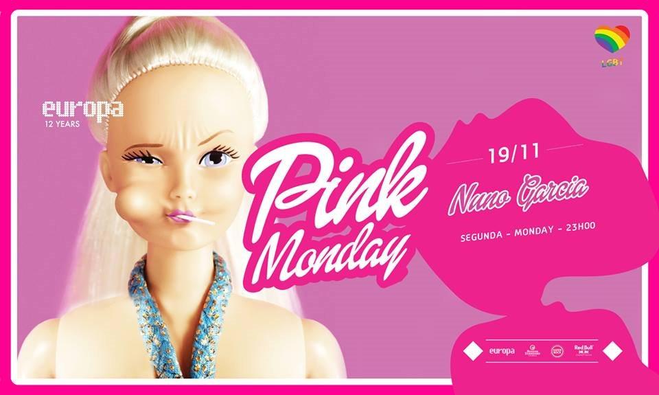 Nuno Garcia - Pink Monday- Lgbt Party  at Europa in Lisbon 19 Nov 2018