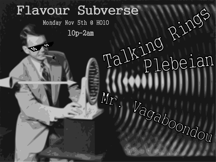 RA: Flavour Subverse with Talking Rings, Plebeian and Mr