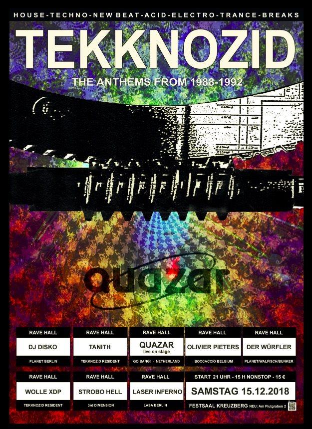 RA: Tekknozid - Oldschool Rave Start 21 Uhr at Festsaal