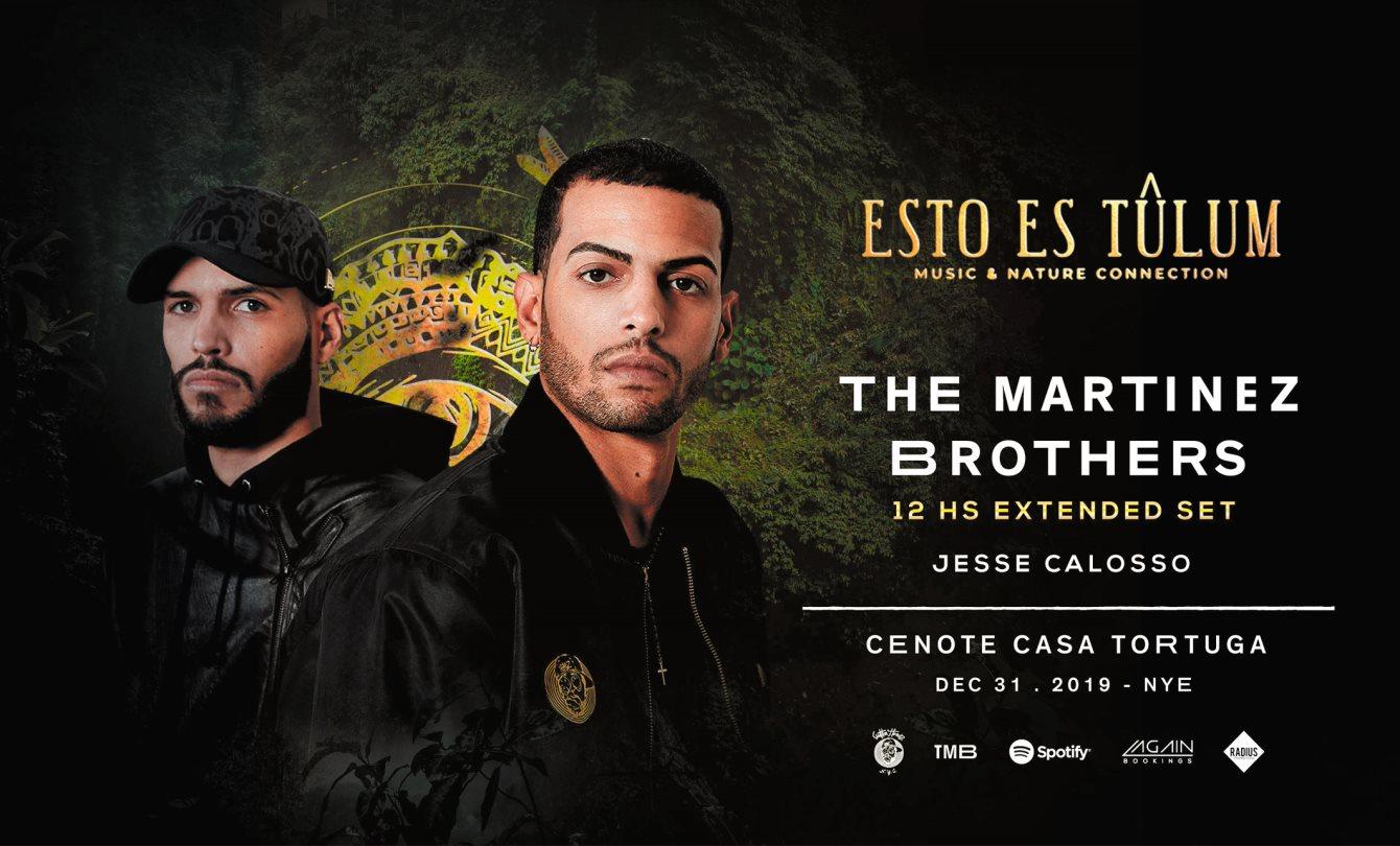 Ra The Martinez Brothers Nye At Cenote Casa Tortuga Tulum South 2018