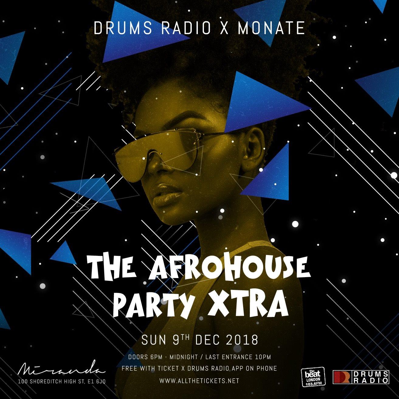 RA: Afro House Party Xtra at Miranda, London (2018)