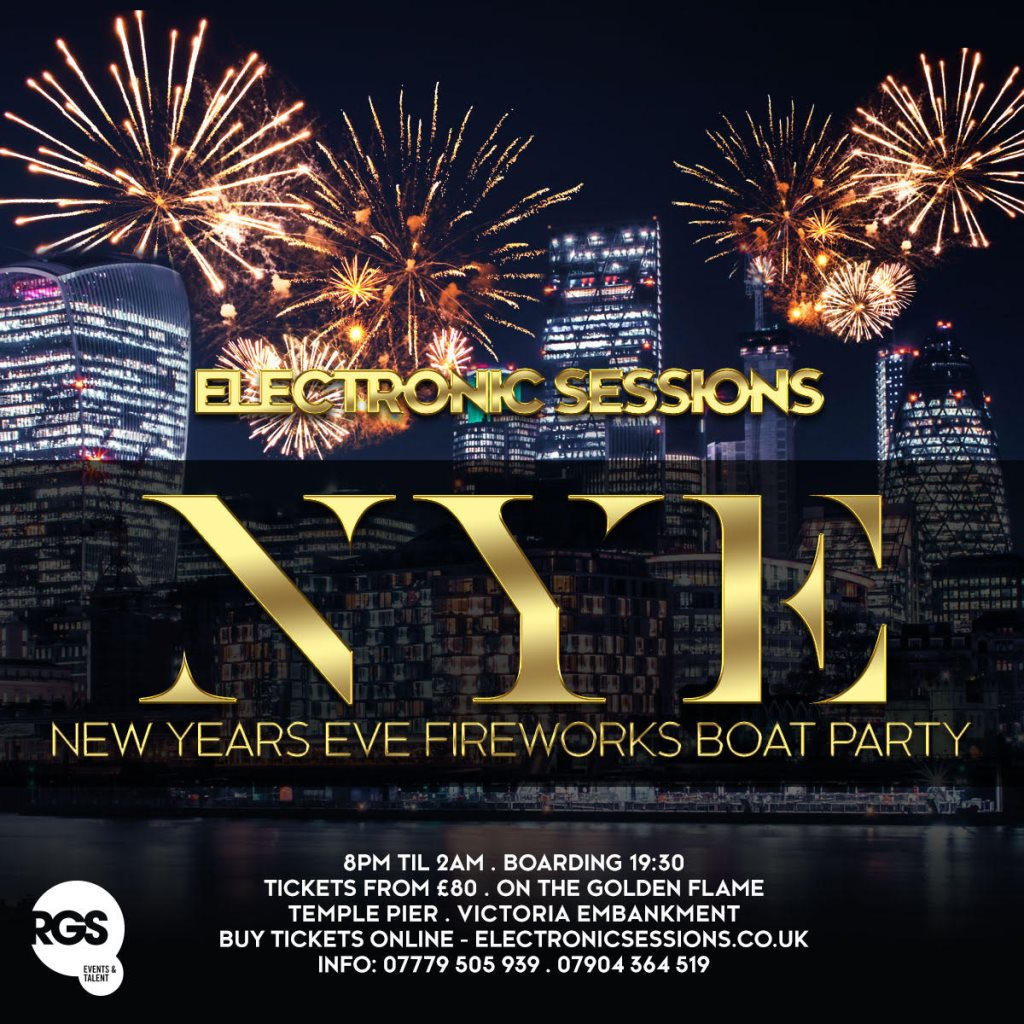 Ra Electronicsessions New Years Eve Fireworks Boat Party At Temple